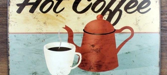 Hete-koffie-Lekkere-drankjes-tegen-ontwerp-arsenaal-Retro-vintage-metalen-borden-emaille-bord-decor-van-de